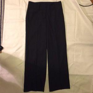 Ann Taylor Loft black dress pants size 4P.